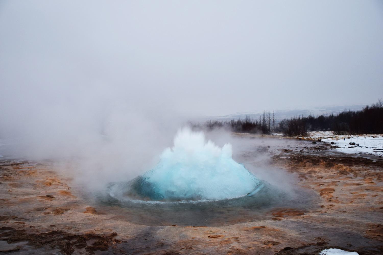 Stopover in IJsland geiser
