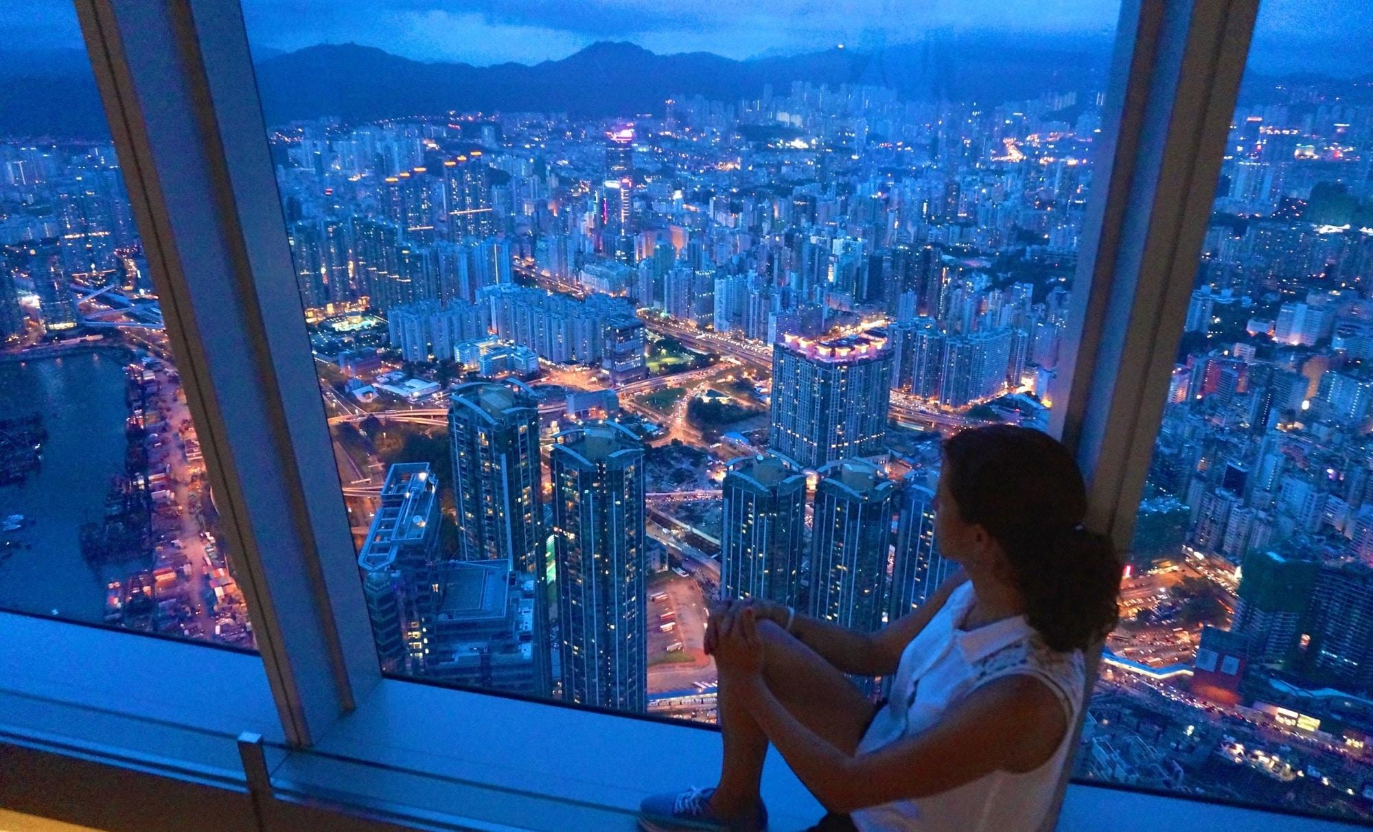 Sky100 Hongkong header