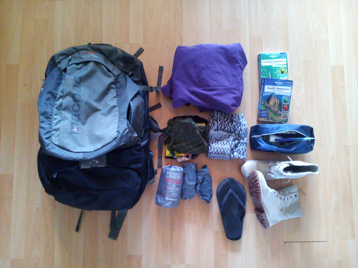whats in the travel bag of... Kim