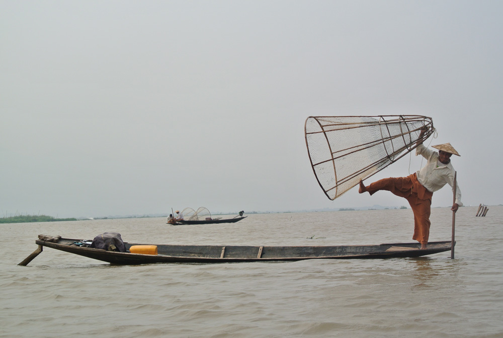 De inle lakese vissers