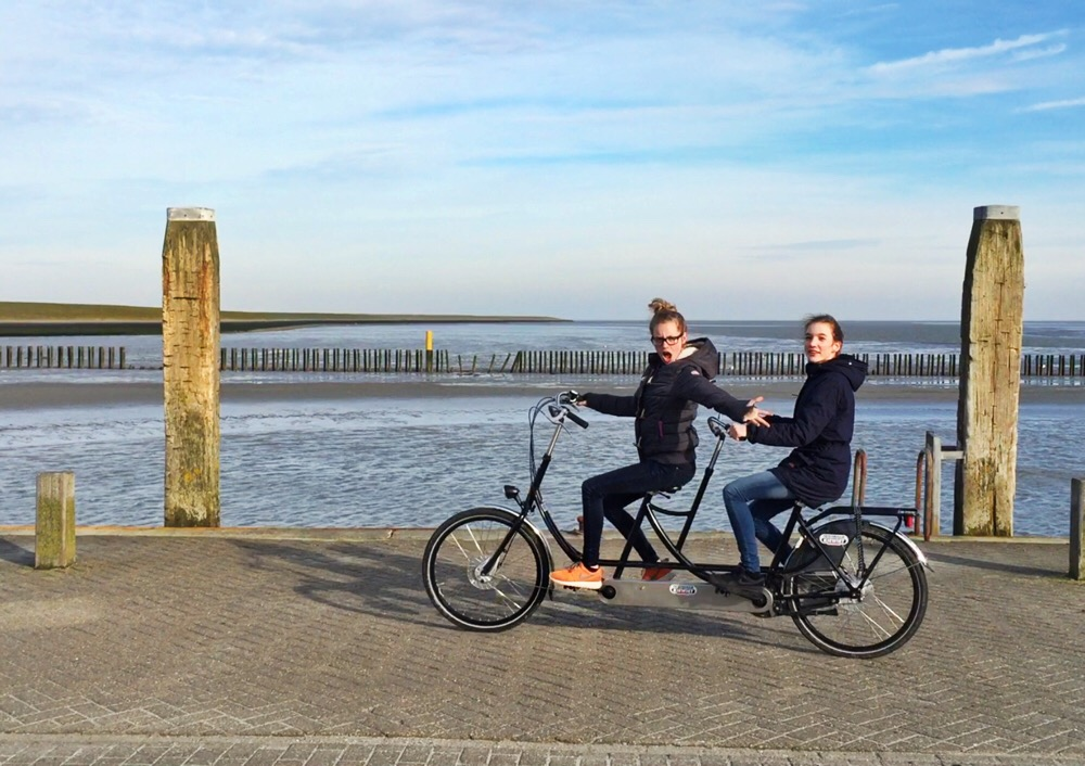 tandems op Ameland