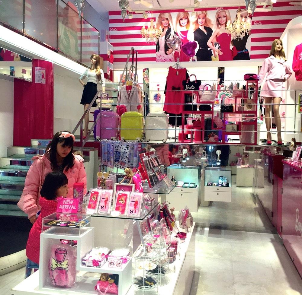Tokyo barbie store
