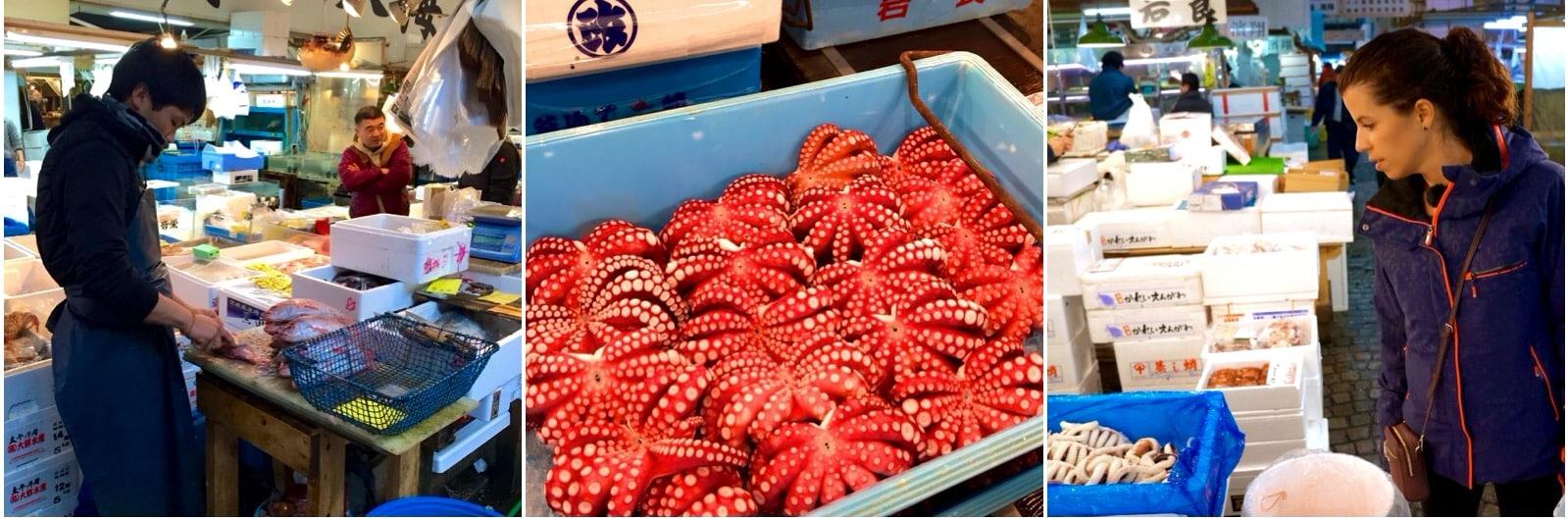 Tsuijki Fish market