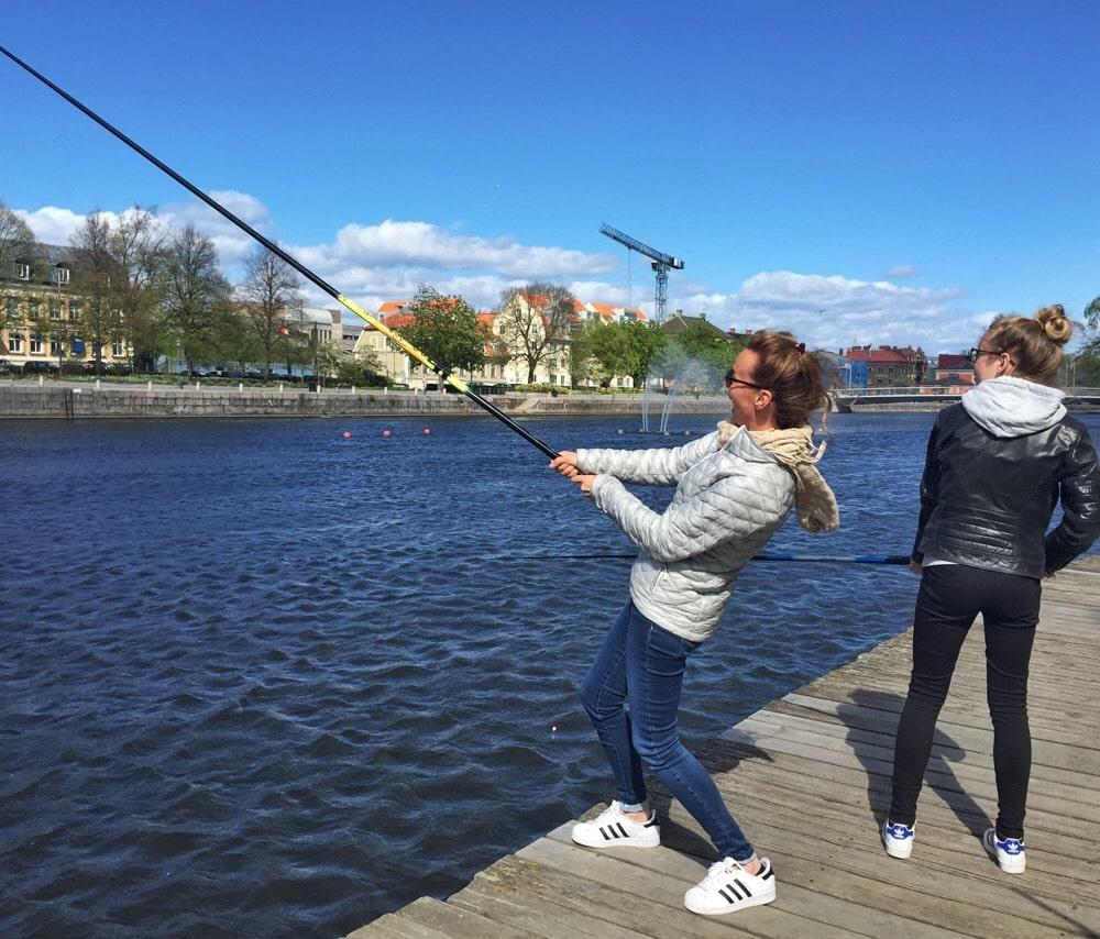 vissen in Norrkoping