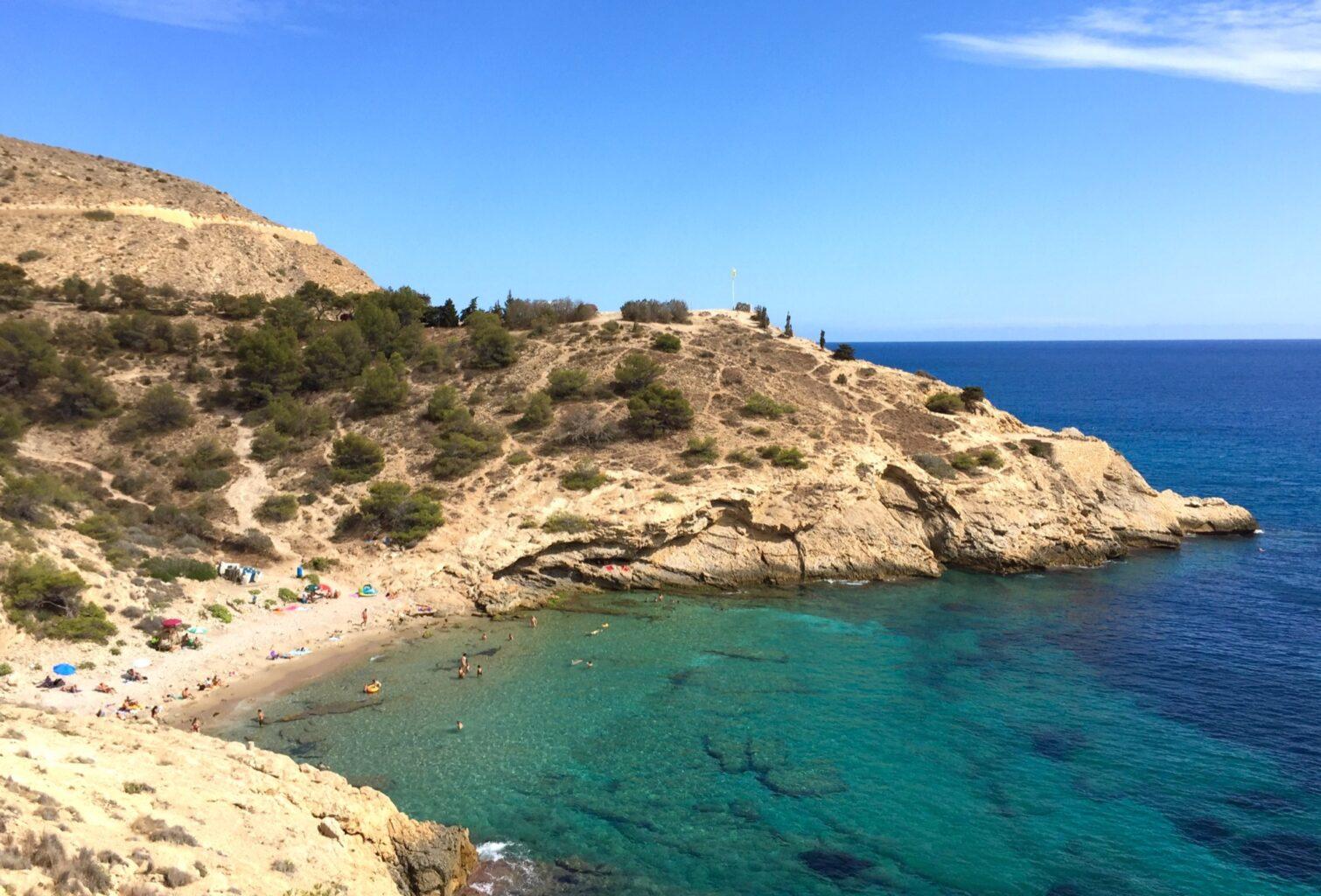 de mooiste stranden van Benidorm