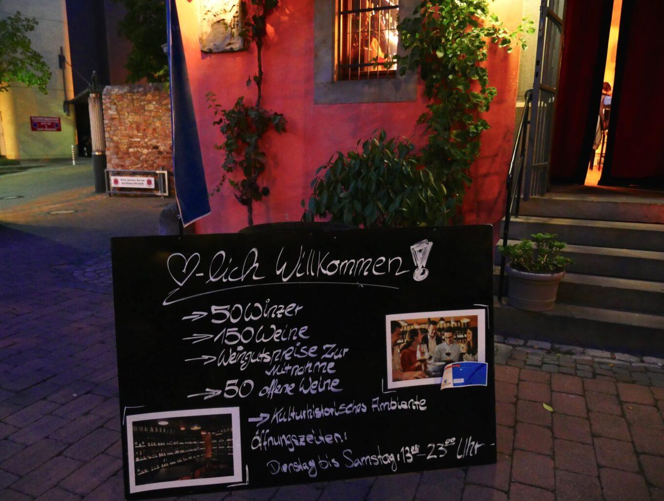 wijnbar in Bad Kreuznach