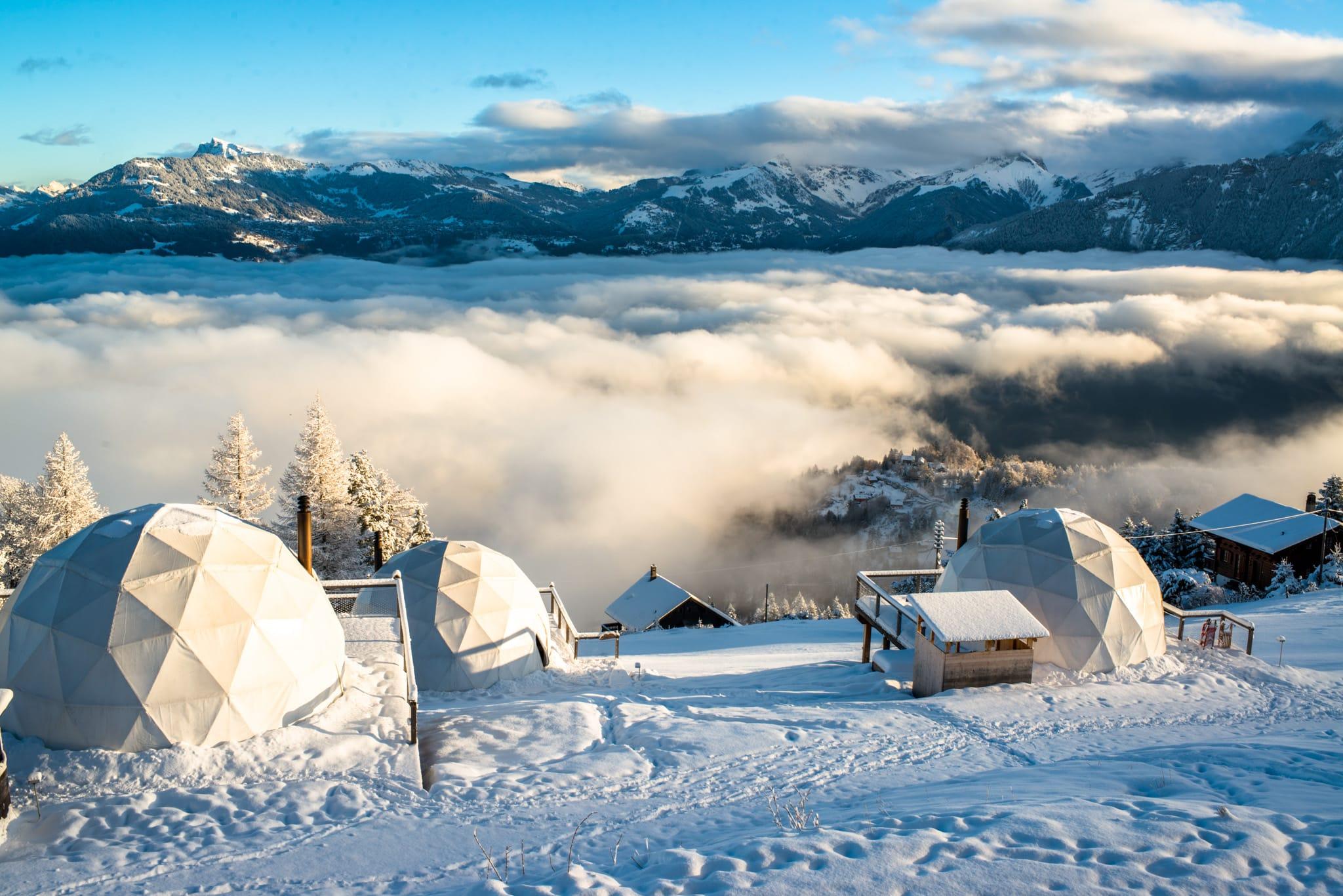 Eco-vriendelijke wintervakantie