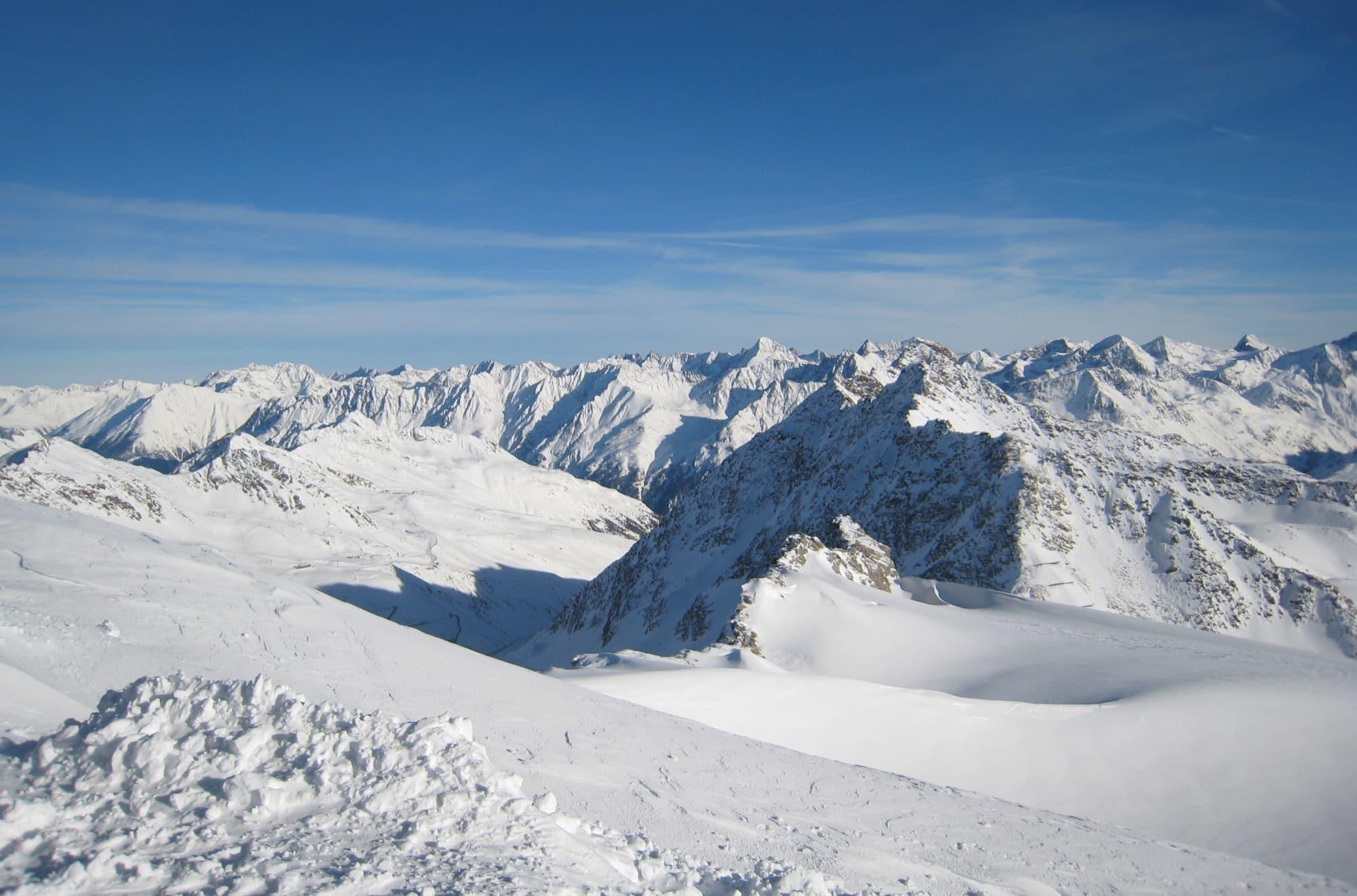 Beste wintersportgebieden Frankrijk
