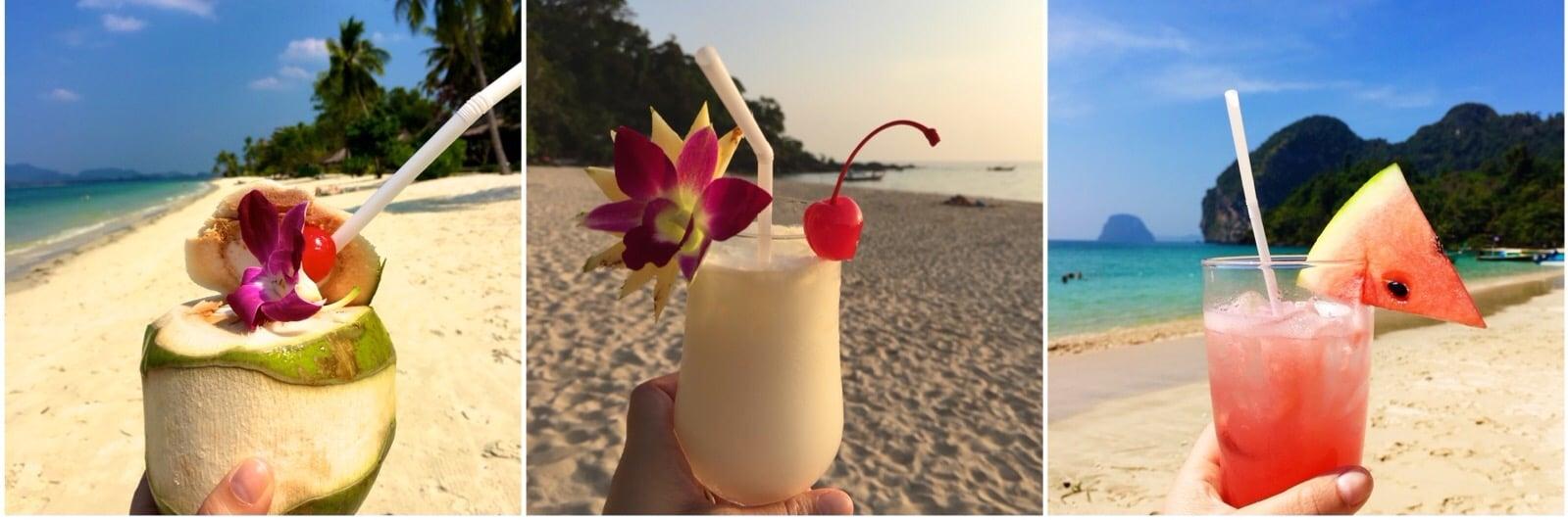 Thailand Koh Mook drinks