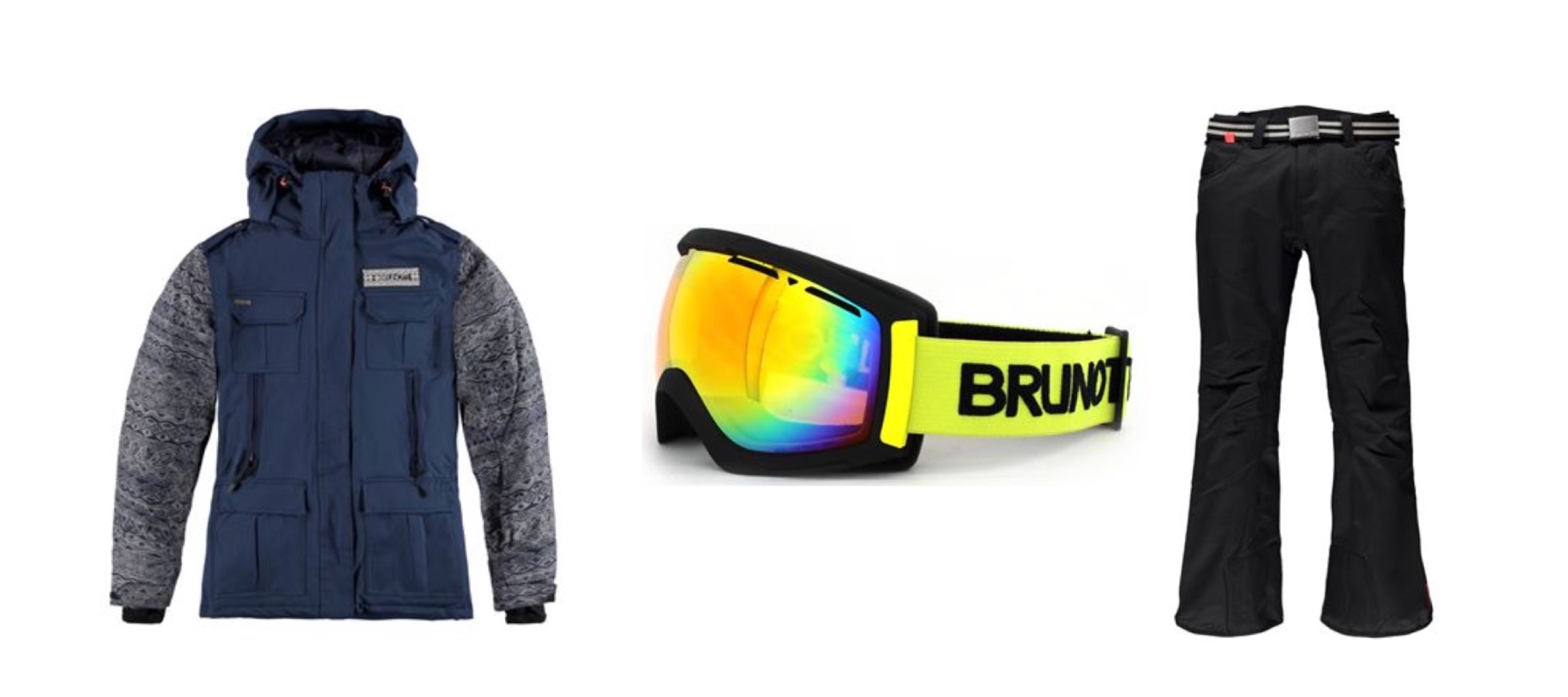 Win Brunotti outfit items