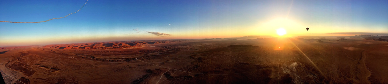 Mooiste luchtballonvaart Namibie