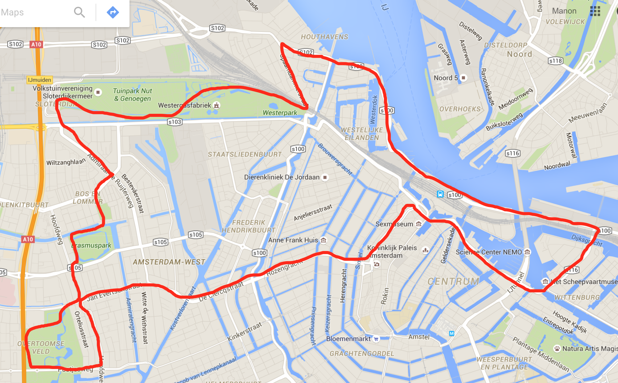 Hardlooproutes Amsterdam
