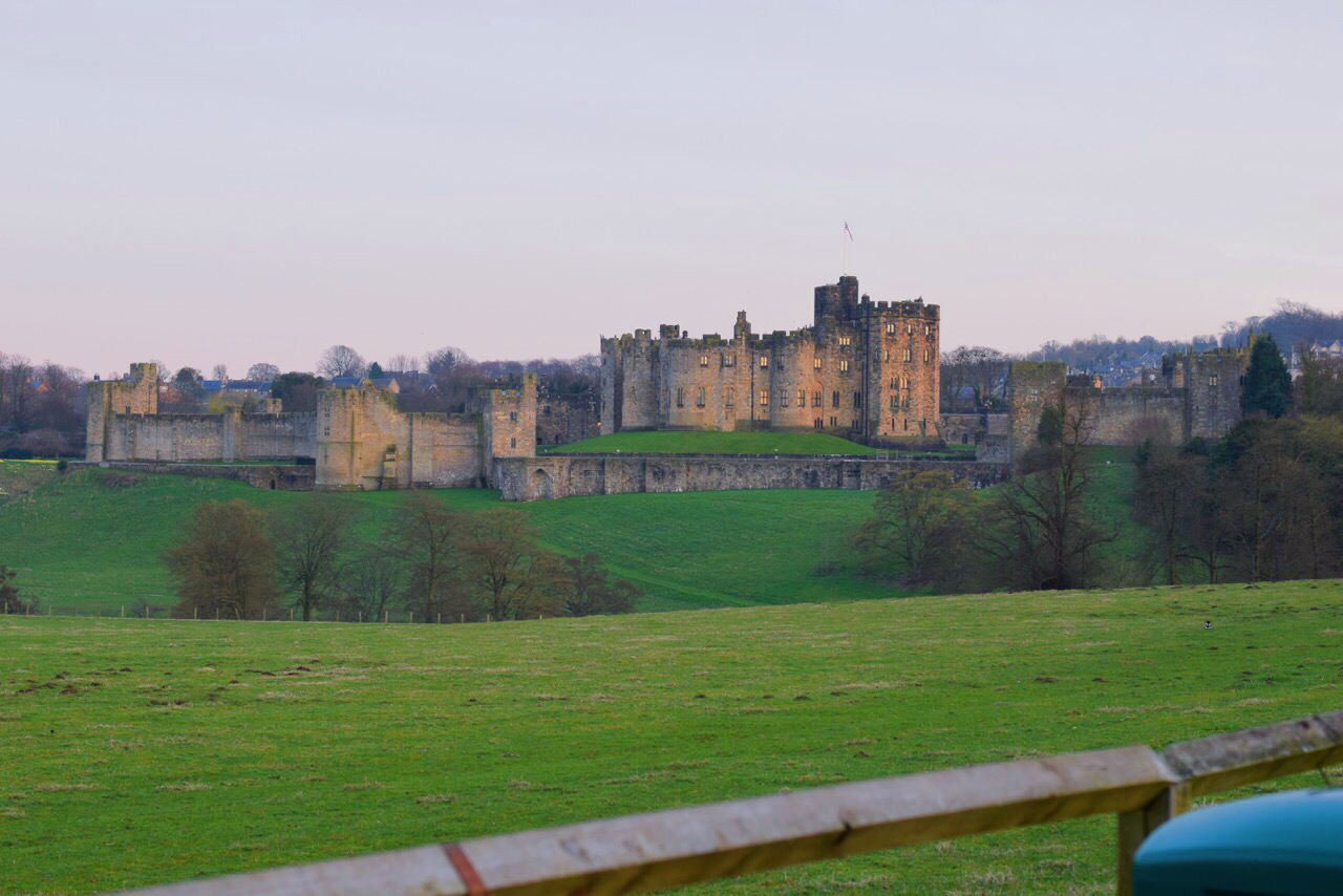 Noord oost engeland - north east england - Alnwick castle