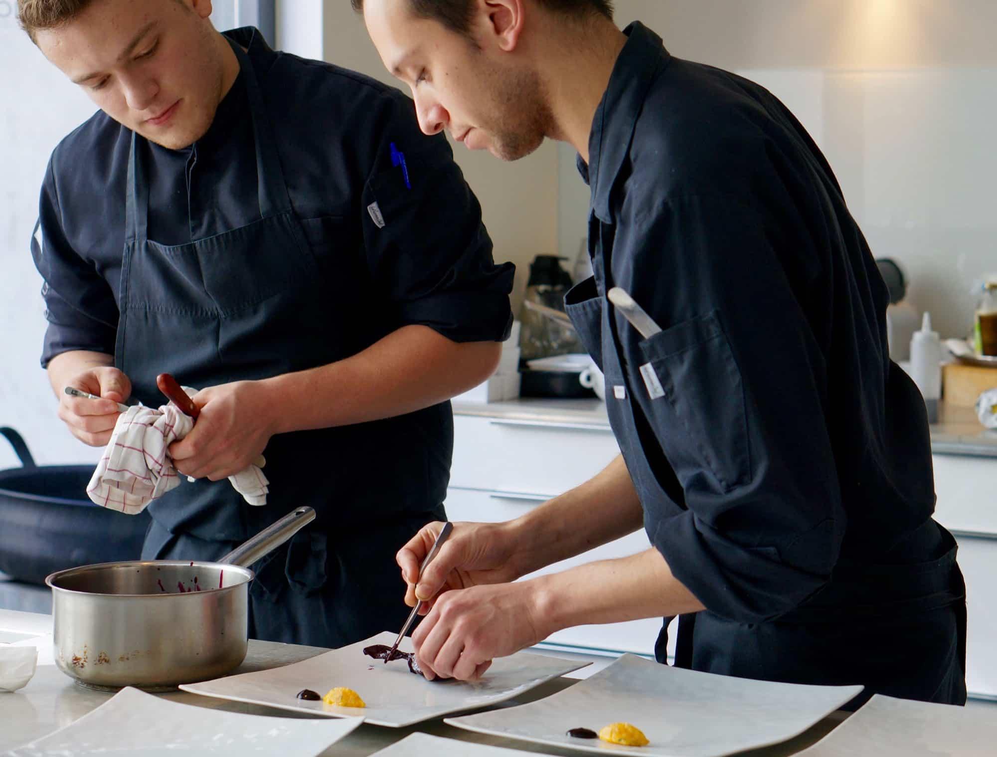 Michelinsterren chef thuisbezorgd foodora