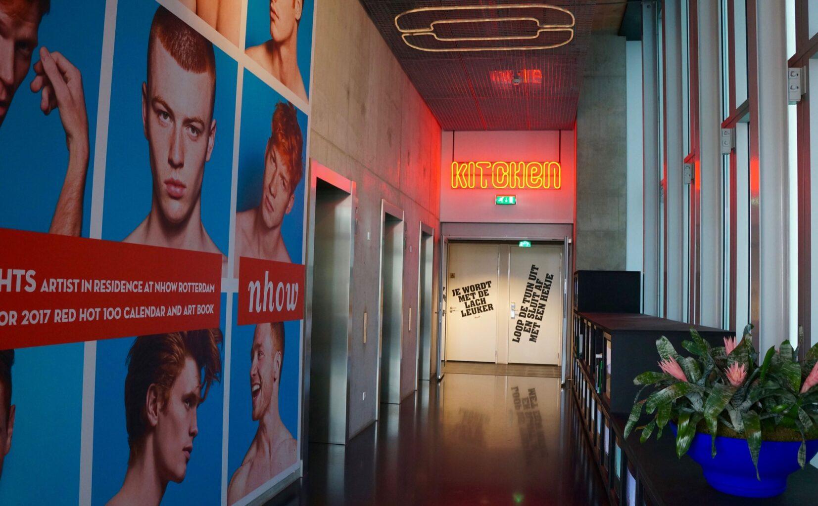 Nhow hotel Rotterdam design - 1