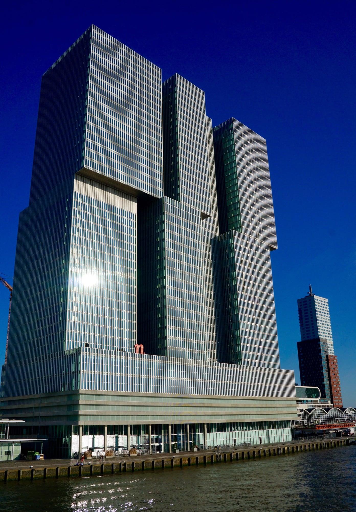 Nhow hotel Rotterdam design