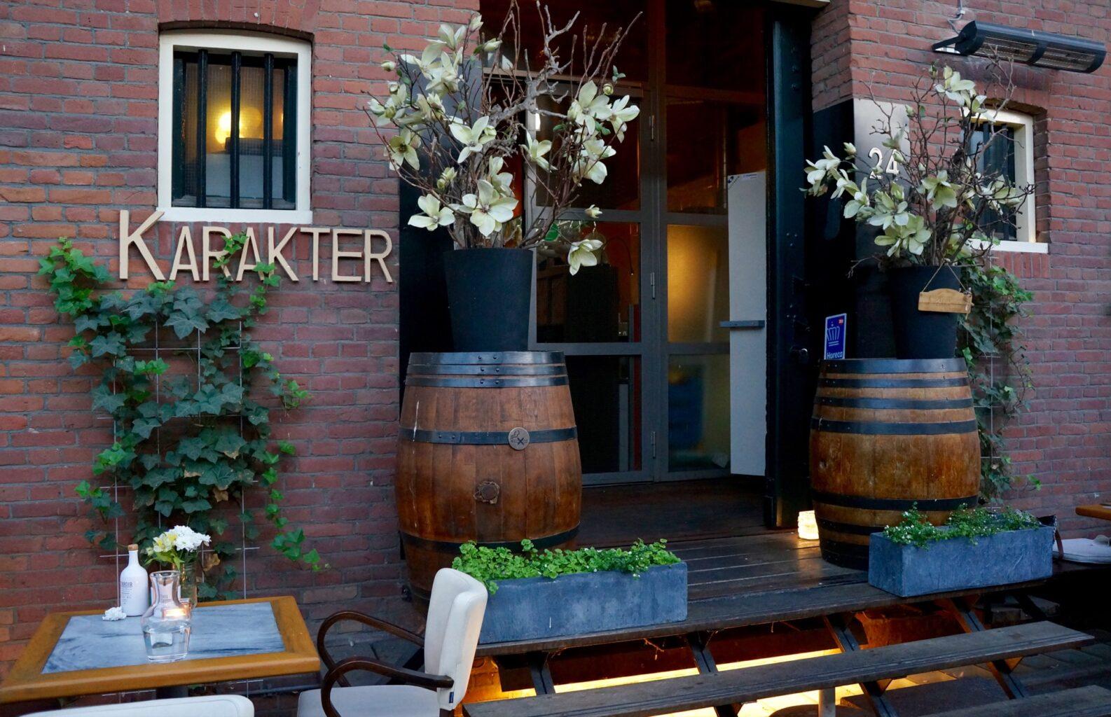 restaurant Karakter Rotterdam biologisch