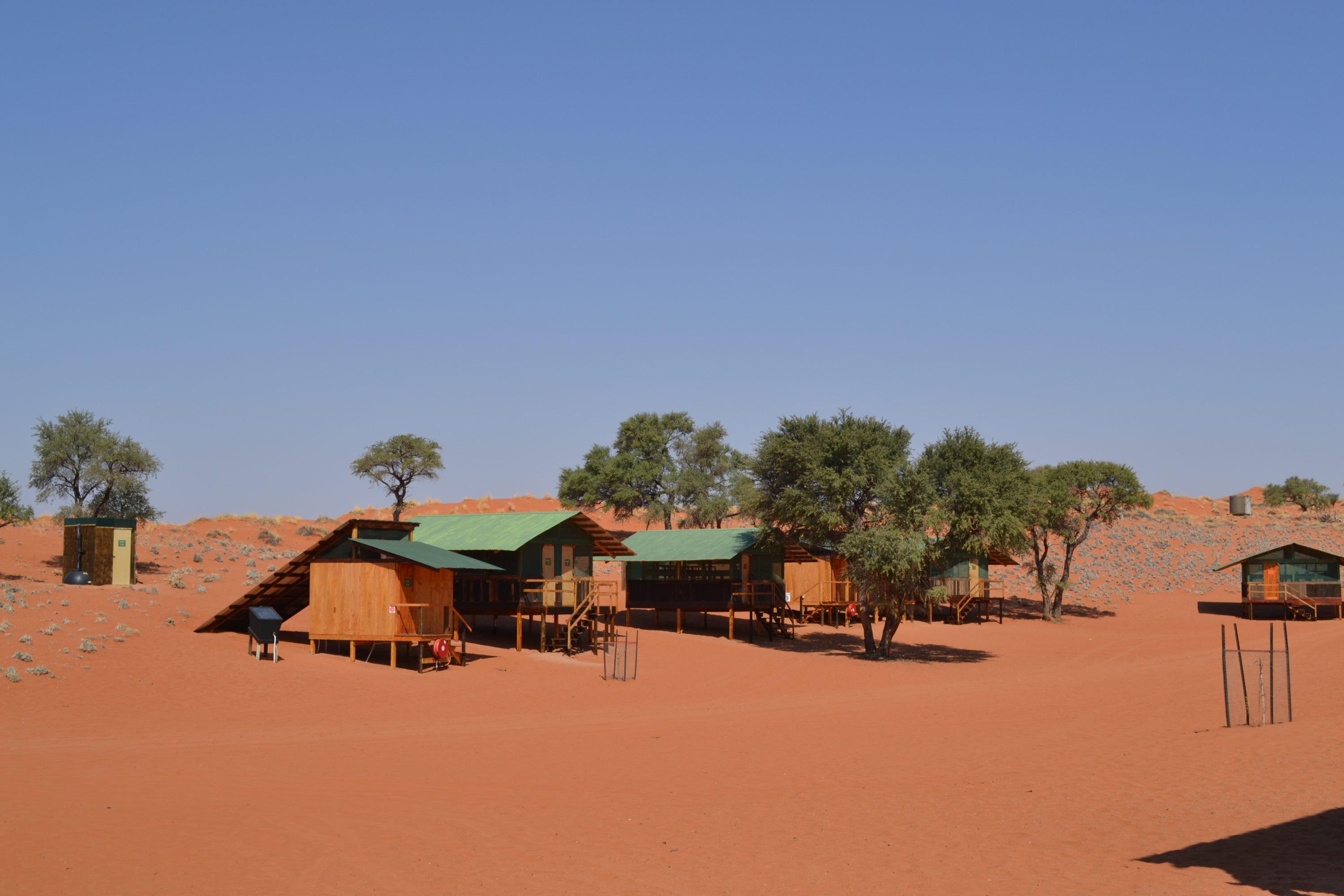 Wolwedans Private Camp Namibië