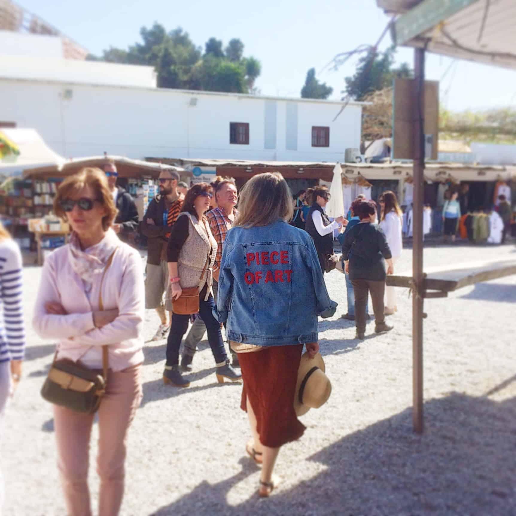 Las dalias Ibiza in maart
