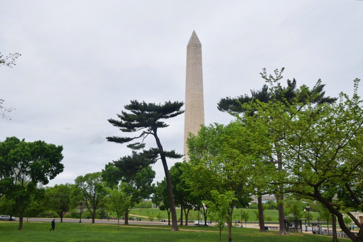 US roundtrip | Washington monument