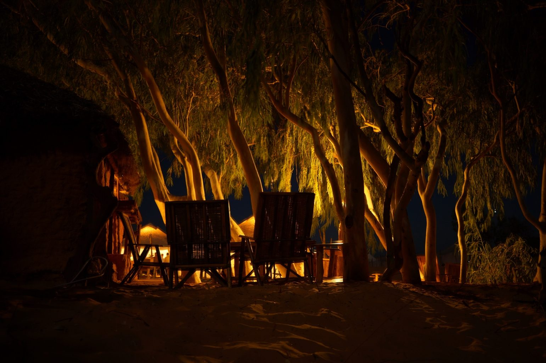 Slapen woestijn Senegal