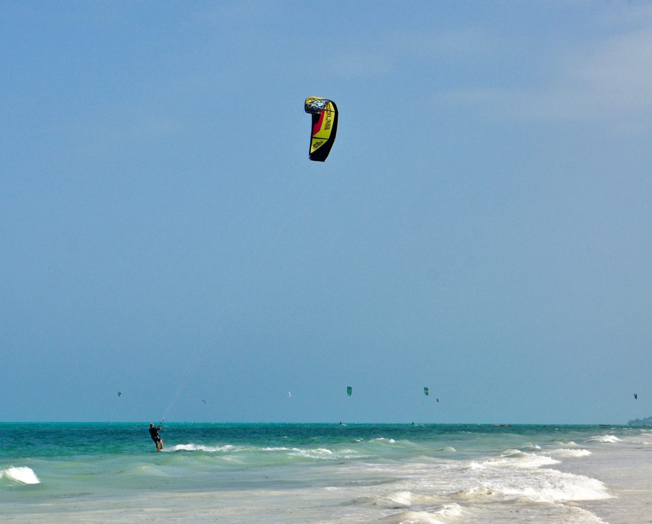 Zanzibar the loop watersport resort